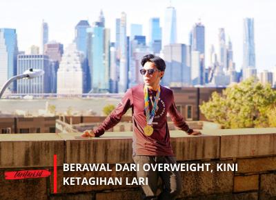 Gustino : Berawal dari Overweight, Kini Ketagihan Lari