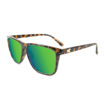 Fast Lanes |Glossy Tortoise Shell / Green Moonshine (Polarised)