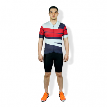 TRIJEE |CYCLING JERSEY - LANDA BROWN GREY