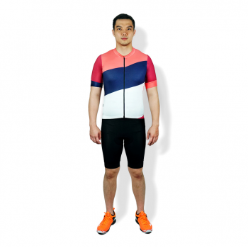 TRIJEE| CYCLING JERSEY - LEONARD RED