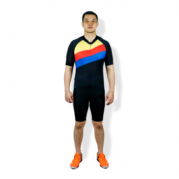 TRIJEE - CYCLING JERSEY - LUIS BLACK YELLOW