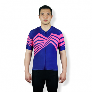 TRIJEE - CYCLING JERSEY - LUTZ PURPLE PINK